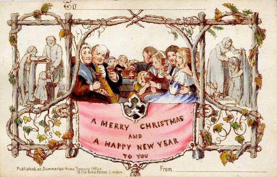 Χριστουγεννιάτικες ευχετήριες κάρτες: από την ρομαντική ιστορία στο σημερινό τους ρόλο